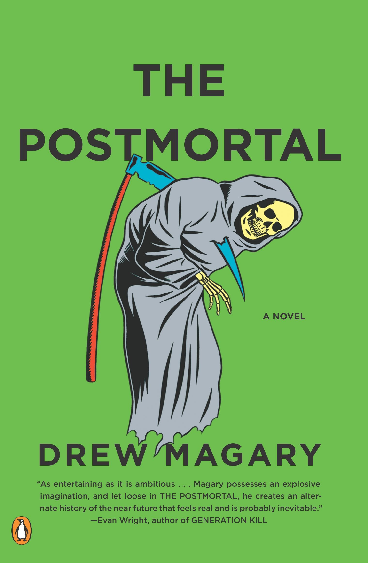 71dtuyhWikL The Postmortal: A Novel