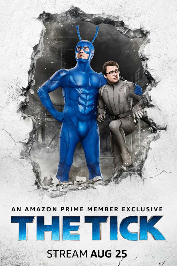 the tick amazon poster The Tick