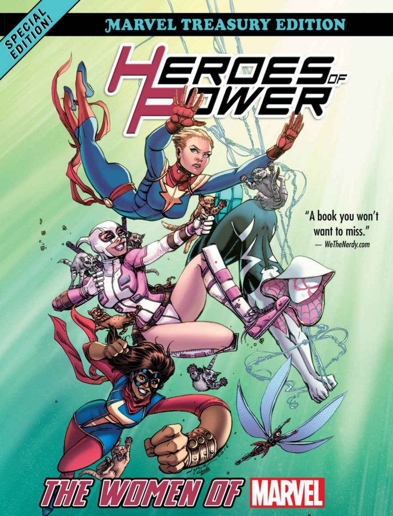 0 779x1024 Heroes of Power: The Women of Marvel: All New Marvel Treasury Edition (Women of Power)