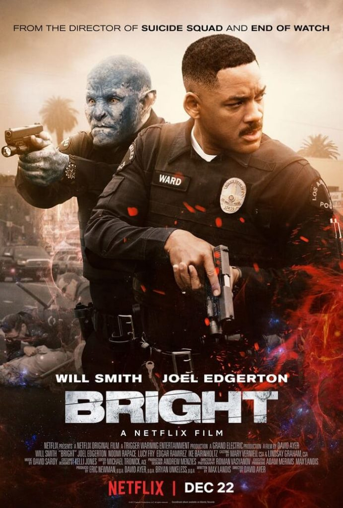 bright movie poster 691x1024 Bright