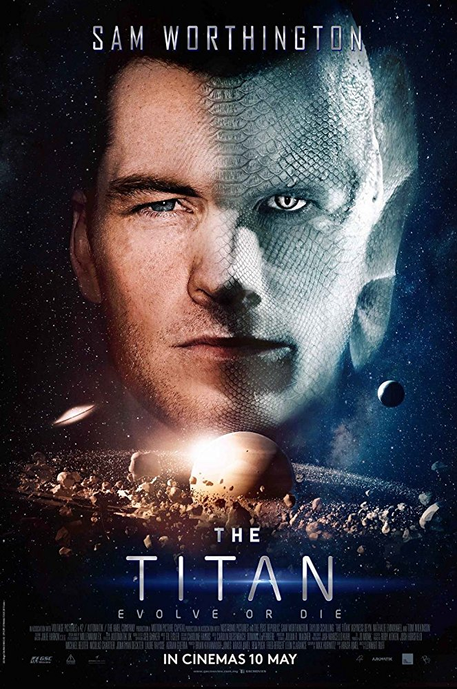 Netflix The Titan Movie Poster The Titan