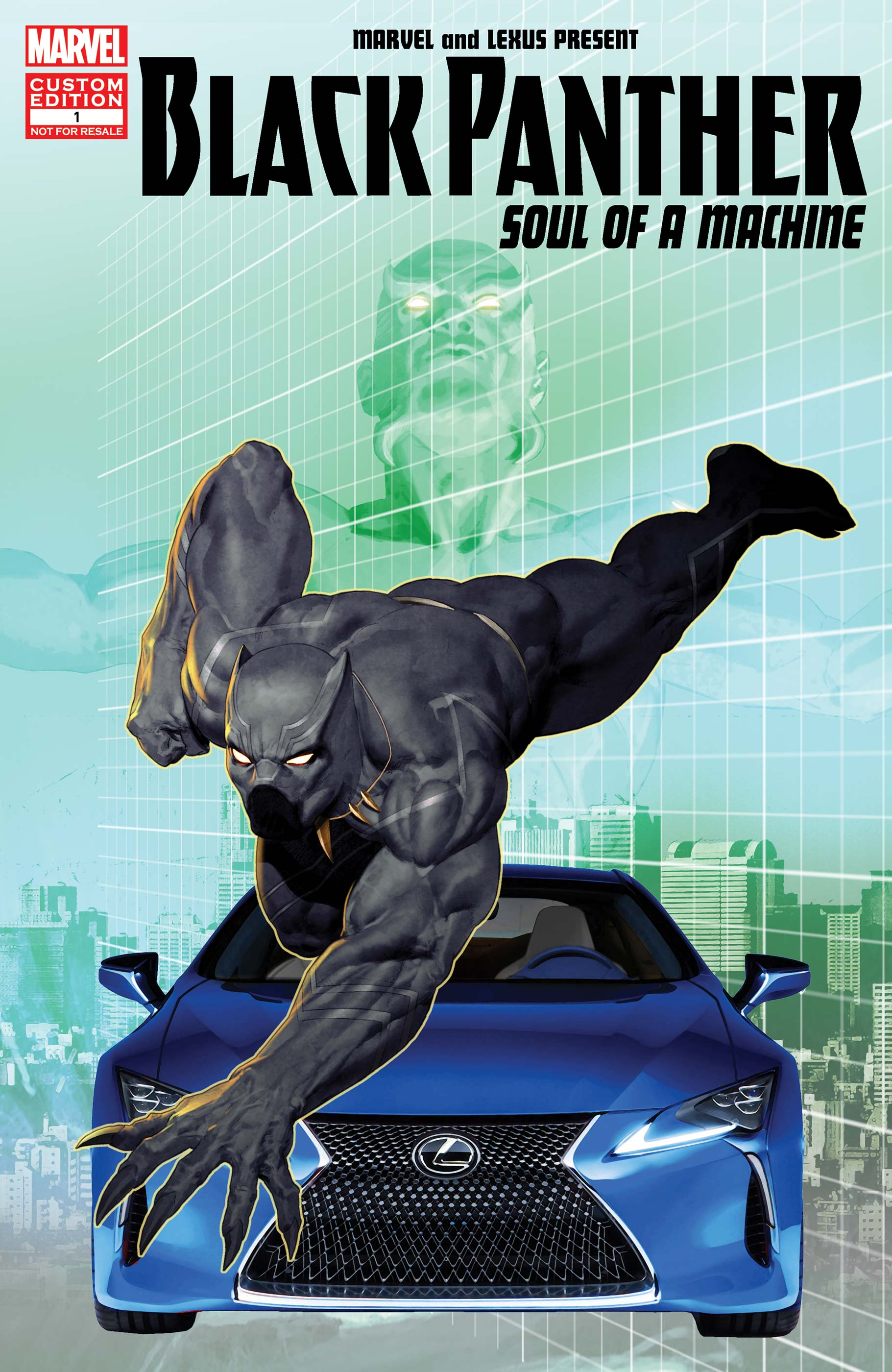 clean Black Panther: Soul of a Machine