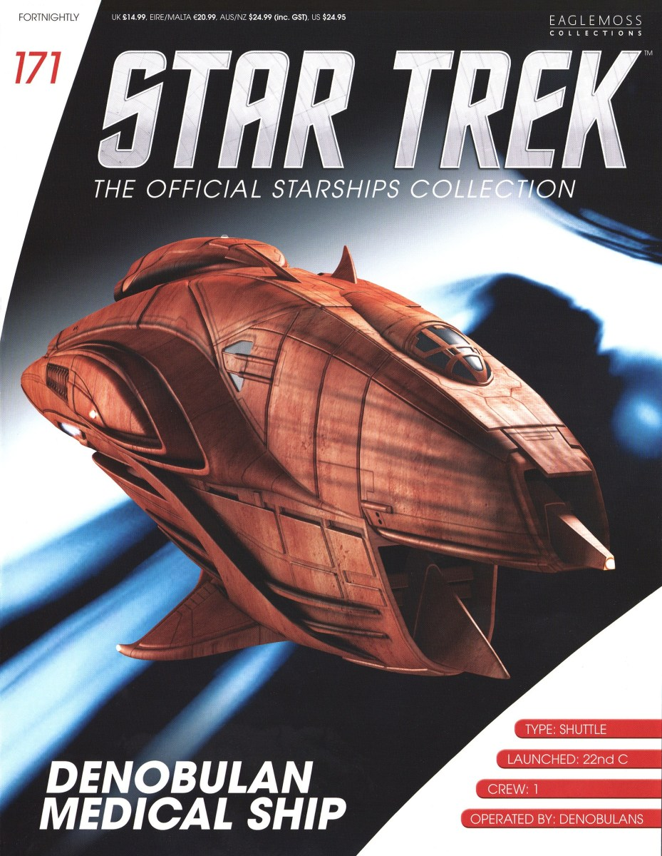 Star Trek The Official Starships Collection 171 Star Trek  The Official Starships Collection #171 Barzai Denobulan Medical Ship