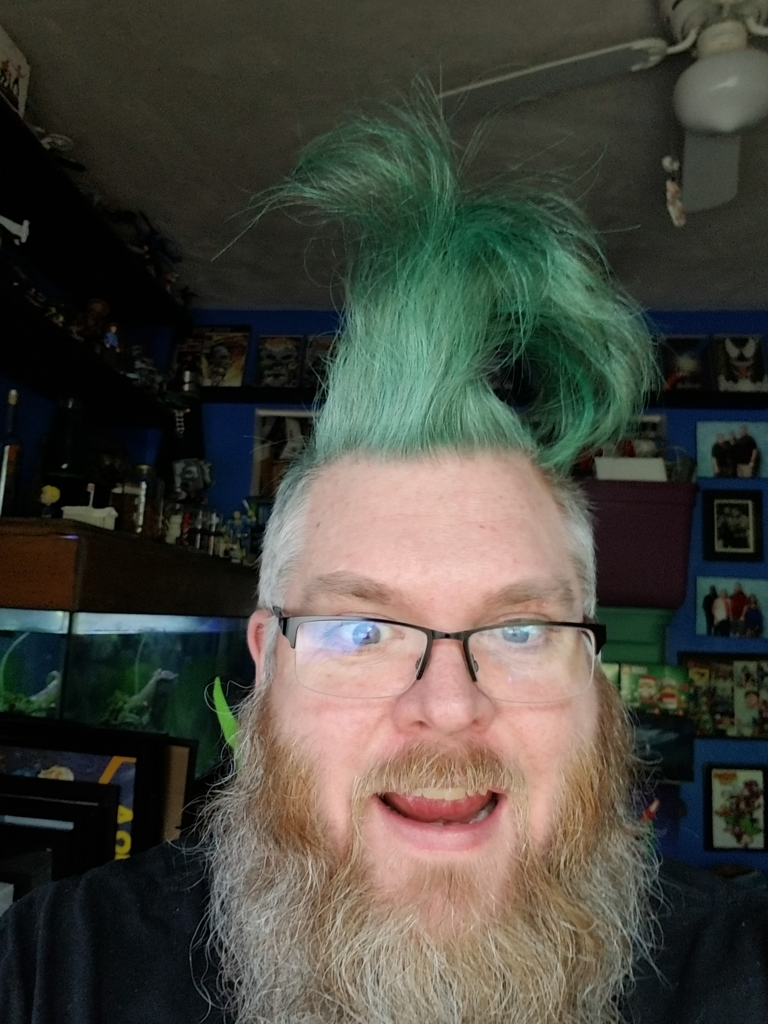 2020 09 18 my mohawk is now green