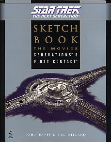 392 Star Trek: The Next Generation: Sketchbook: The Movies, Generations & First Contact