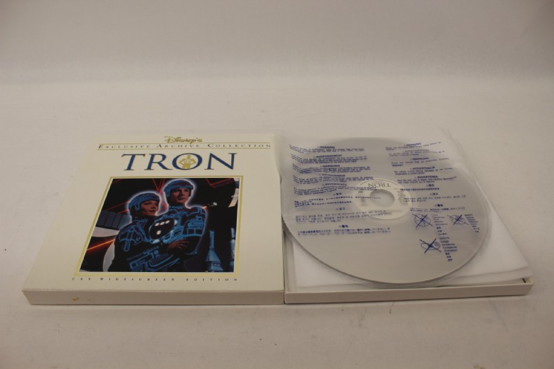 tron1 I bought Tron and Fantasia on laser disk!