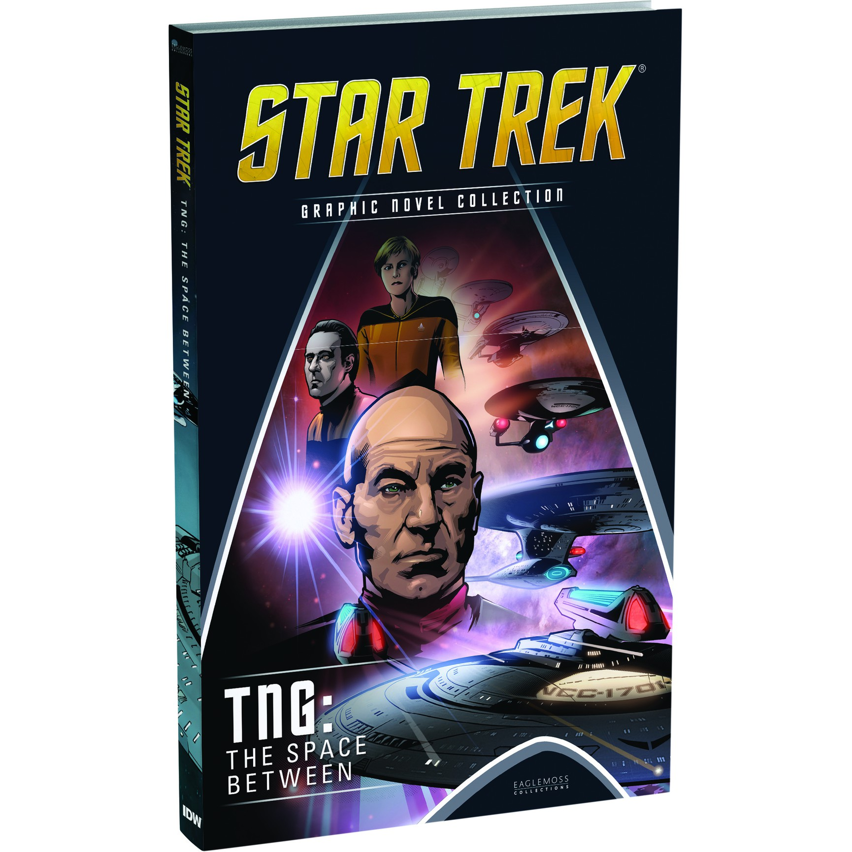 sgnuk005 1 Eaglemoss Graphic Novel Collection #5: TNG: The Space Between
