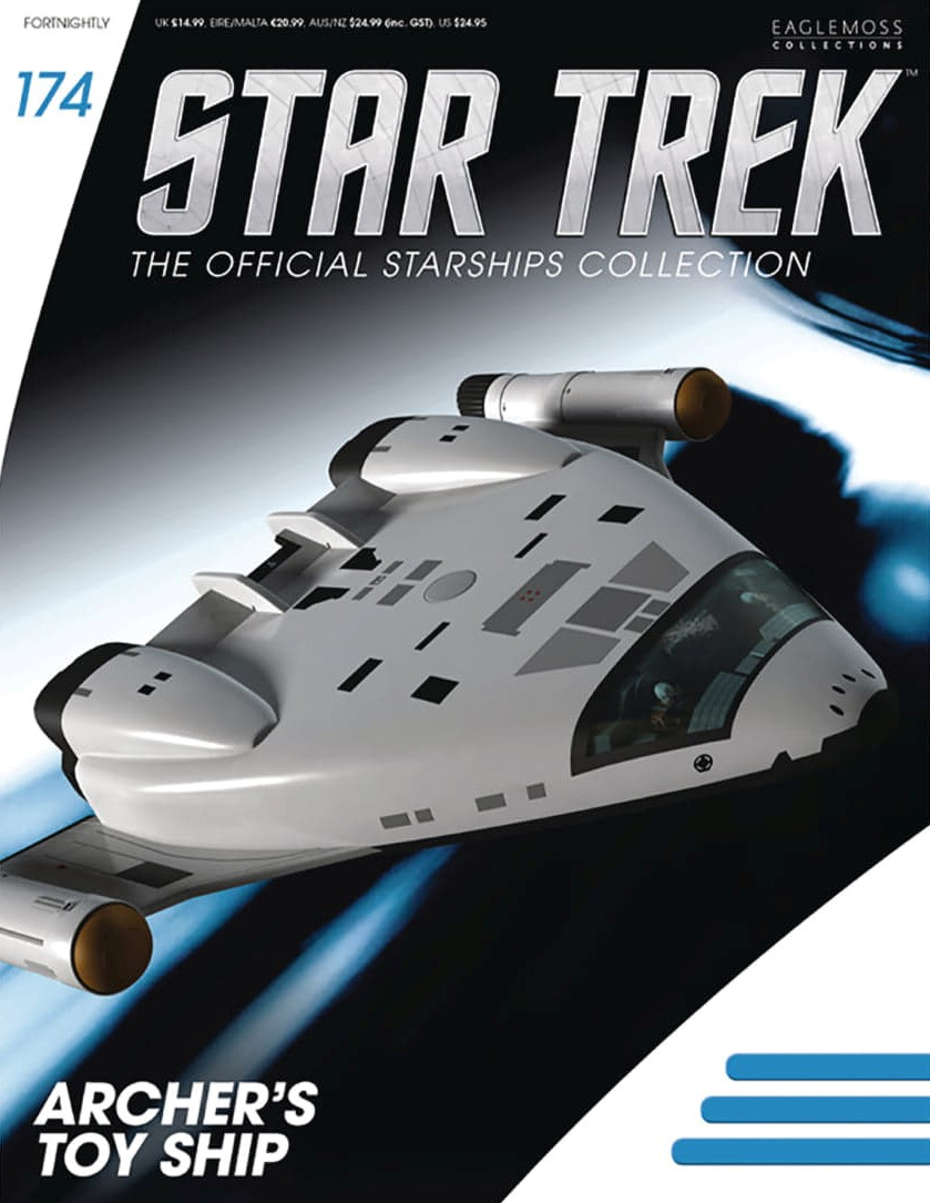 Star Trek The Official Starships Collection 174 Star Trek: The Official Starships Collection #174 Archer's Toy Ship